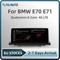 Автомобильная Мультимедийная система, восемь ядер, экран 10,25 дюйма, Android 10, 4 Гб + 64 ГБ, 4G LTE, GPS навигация для BMW X5 E70 X6 E71, с поддержкой CIC
