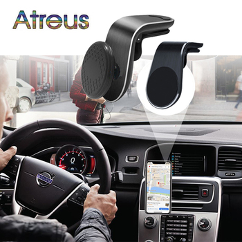 Magnetic Car GPS Phone Holder for Ford Focus 2 3 mK2 mK3 Fiesta mk7 Mondeo mk4 c max Ranger Mustang Kuga Honda civic forza 125 image