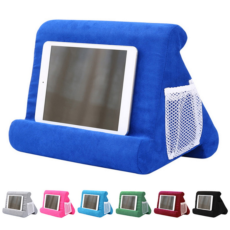 Tablet Stand Laptop Holder Pillow Foam Lapdesk Multifunction Laptop Cooling Pad Stand Rest Cushion For Ipad