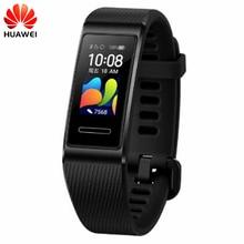 オリジナル Huawei 社バンド 4 プロスマートリストバンド革新的な時計はスタンドアロン GPS 積極的健康監視 SpO2 血液酸素