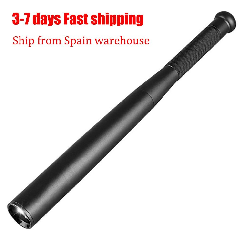 Torch Stick Baseball Flashlight Anti-Riot-Equipment LED Self-Defense Aluminium-Alloy