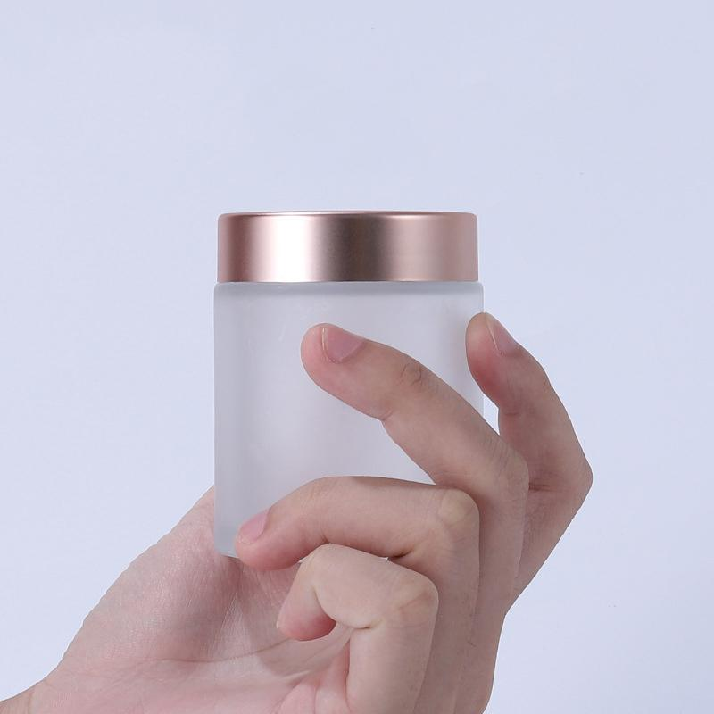 50g glass jars (4)