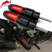 สำหรับ BMW K1600GTL K1600 GTL K 1600 GTL 2011 2020 รถจักรยานยนต์อุปกรณ์เสริม CNC ป้องกัน FALLING สไลด์ท่อไอเสีย CRASH Pad slider