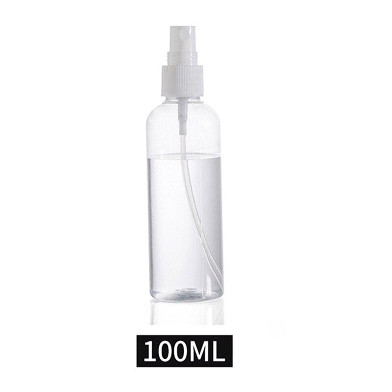 30 мл 50 мл 100 мл многоразовый мини-парфюм пустая бутылочка с распылителем косметические контейнеры пластмассовый распылитель портативный дорожный флакон для духов - Цвет: 100ML