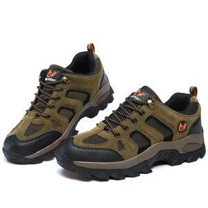 Image 5 - גברים נשים חיצוני ספורט נעלי הליכה רוק טיפוס טרקים הנעלה פרו הרי מקרית סניקרס הליכה ללבוש התנגדות מגפיים