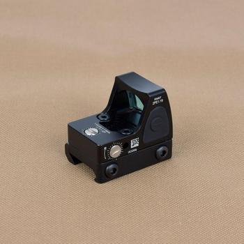 Mini RMR Red Dot Sight Scope Adjustable Collimator Pistol Rifle Reflex Sight Fit 20mm Rail For Hunting Airsoft Optics Sight 4