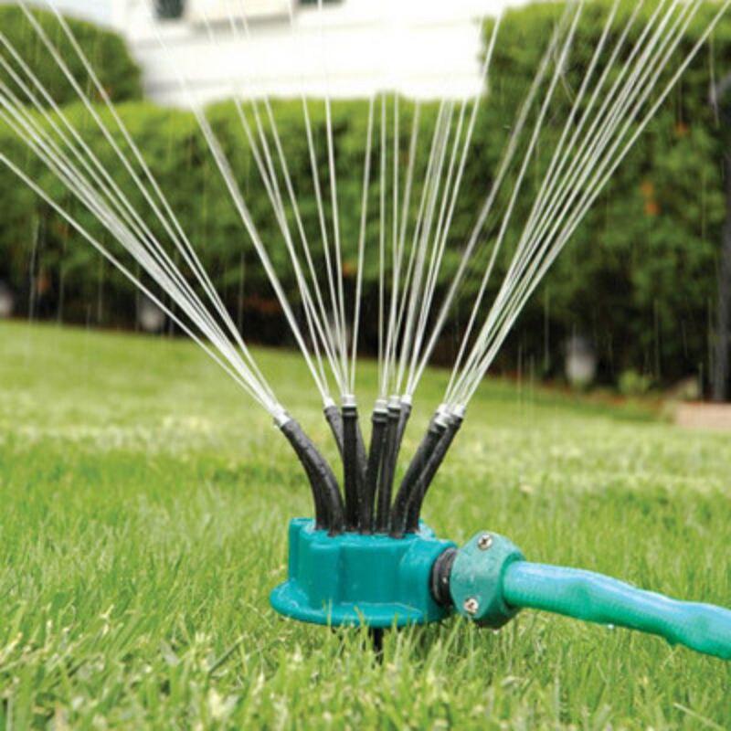 Ev ve Bahçe'ten Bahçe Sprinkler'de Bahçe su püskürtücü çim su tasarrufu çok uçlu sulama başlığı bahçe pülverizatör sulama sistemi parçaları bahçe aletleri malzemeleri title=