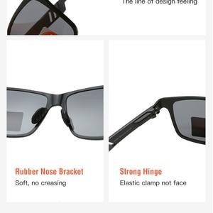 Image 4 - Polarized glasses Sunglasses UV400 Classic Brand Sun glasses Driving Mens designer masculino Male Mirror Eyewear