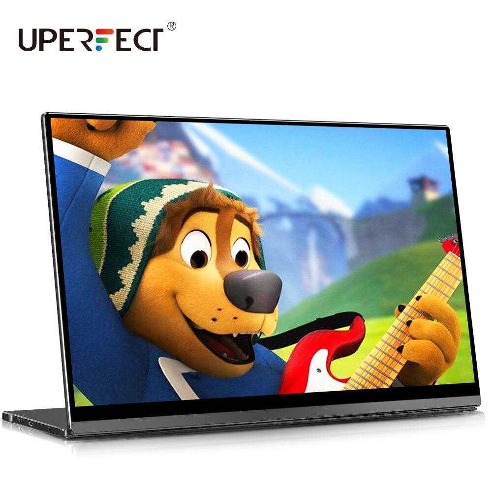 UPERFECT – moniteur Portable FHD 15.6 P avec capteur de gravité, écran tactile de jeu avec 10 points, deuxième affichage pour XBOX Switch, 1080 pouces