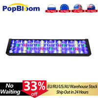 PopBloom LED light aquarium lamp Coral Reef Marine fish tank led lighting for 2ft /24