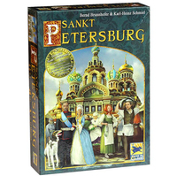 Saint Petersburg+Extended Board Game 2 5 Players to Play Family/Party/Friends Funny Game