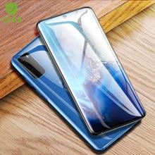 CHYI 3D Film incurvé pour Samsung galaxy S20 Ultra protecteur d'écran S20plus couverture complète nano Film avec outils d'installation pas de verre