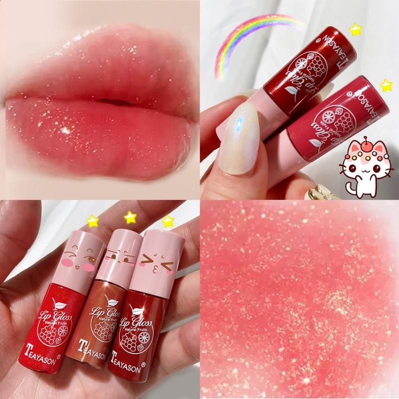 Mini 12 Colors Liquid Lip Gloss Waterproof Non stick 24 Hours Long Lasting Velvet Matte Lipstick Lip Gloss Cosmetic Makeup TSLM2
