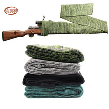 Airsoft Rifle Pistol Knit Gun Sock Holster Polyester Fishing Rod Protection Cover Long Bag Case Dustproof Hunting