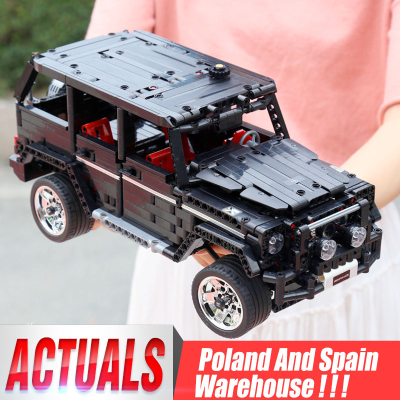Yeshin <font><b>701960</b></font> Off-road SUV Car Compatible Legoing G500 Car Model Building Blocks Bricks Assembly Kit Toy Children Christmas Gift image