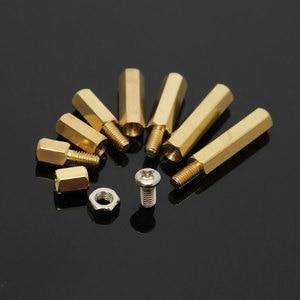 Image 5 - مجموعة متنوعة من الصواميل مع صندوق ، 120 قطعة/المجموعة/مجموعة ، ذكر/أنثى ، نحاس ، مباعد ، عمود PCB ، براغي سداسية ، مجموعة أدوات تثبيت