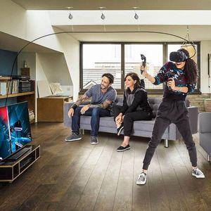 Image 2 - 1Set VR نظام إدارة الكابلات بكرة السقف VR اكسسوارات عدة ل HTC Vive/Vive برو/كوة الصدع/PSVR/سامسونج أوديسي نظارات