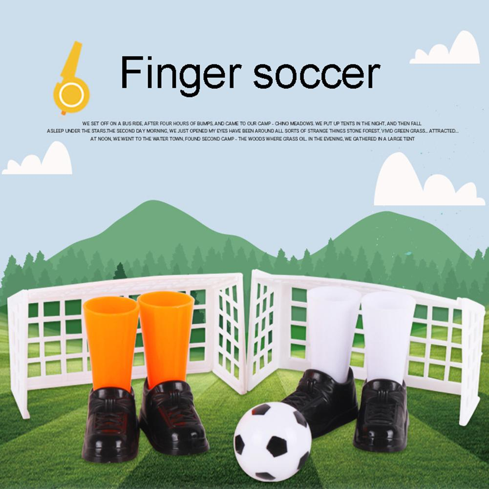 Funny Mini Finger Soccer Football Match Play Table Game Set With Goals Kids Toy Finger Soccer Football Match Play Table Game
