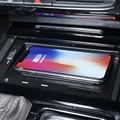 Автомобильное беспроводное зарядное устройство для Volkswagen Teramont 2017 2018 2019 2020 10 Вт, быстрое зарядное устройство для телефона QI, зарядная пласти...