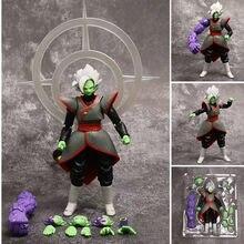 Dragon ball z preto goku zamasu kai supremo anime figuras de ação móveis japão anime pvc brinquedos coleção figura modelo boneca figma