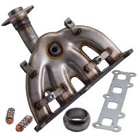 Exhaust Manifold Headers with Catalytic Converter For Jeep Patriot 2.4L 2007 13 5105460AD 5105460AE 19202 079 3156 757461