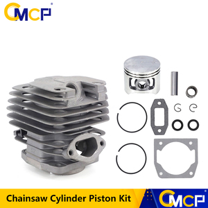 Image 1 - 1 Set Diameter 45mm Chainsaw Cylinder and Piston Set Fit 52 52cc Chainsaw Spare Parts for Gasoline/Oil Chainsaw