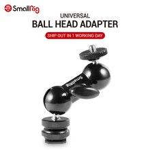 """Smallrig legal bola cabeça v1 multi função dupla bola cabeça com sapata montagem & 1/4 """"parafuso para monitores led luz 1135"""