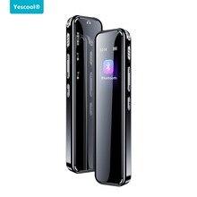 Yescool A8 mini Bluetooth Diktiergerät lange zeit stimme aktiviert recorder wiedergabe Mit Variabler geschwindigkeit diktiergeräte MP3 musik player