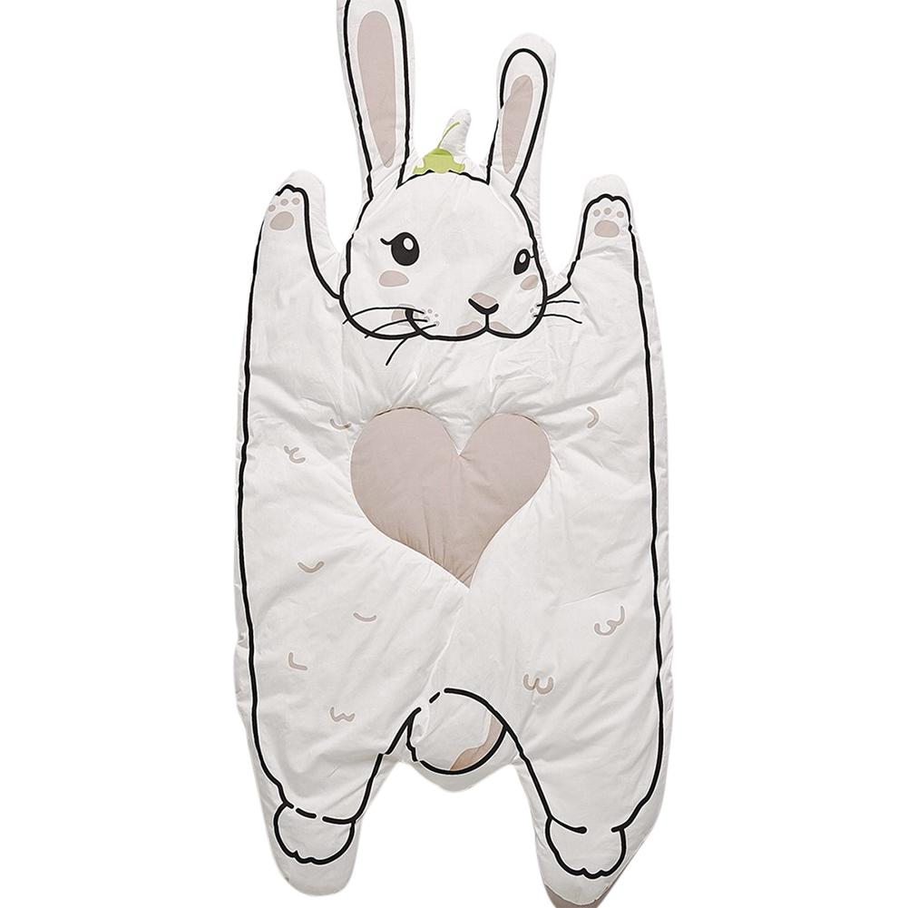 Kidlove Baby Cotton Print Crawling Mat Children Bunny Raccoon Game Mat