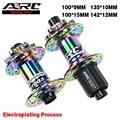 Ступица для горного велосипеда ARC Rainbow, Ступица с 32 отверстиями, подшипник NBK, алюминиевый сплав, кубический, 8-11 в