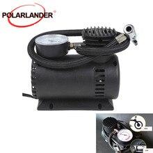 Mini Air Compressor Pump Hot sell car pump Car Tyre Air Compressor with 3 Pneumatic Nozzle 12V 90W 300 PSI car inflator