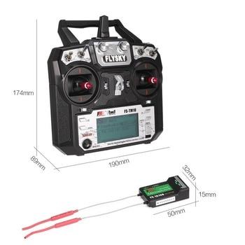 Original Flysky FS TM10 FS i6X 10CH 2 4GHz AFHDS RC Transmitter Radio Model Remote Controller