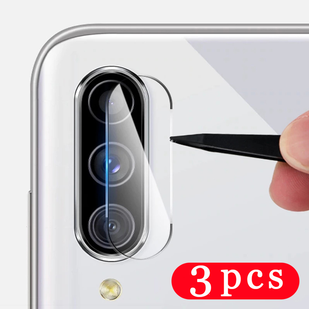 3Pcs Camera Lens for Samsung Galaxy M10 M20 M30 M30S M40 M11 M21 M21S M31 Prime M31S M51 phone screen protector Film on Glass