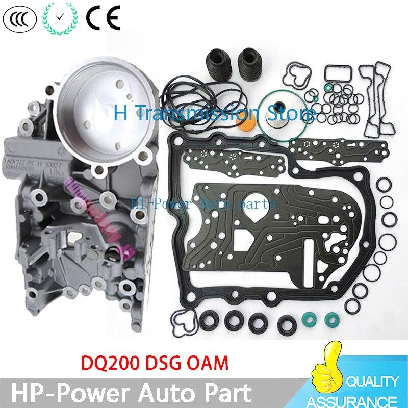 Dq200 dsg 0 am acumular habitação + caixa de velocidades revisão junta filtro de borracha anel à prova de sujeira capa kit para audi skoda 0am325066ac