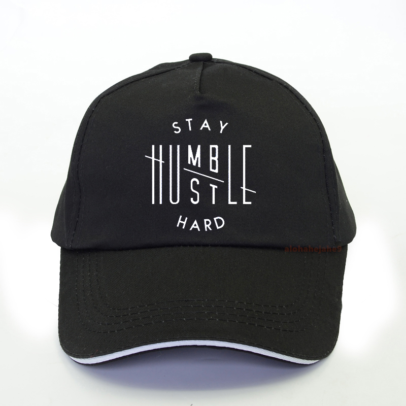 Stay Humble Hustle Hard Baseball Cap Christian Women Fashion Funny Slogan Grunge Tumlbr Men Adjustable Snapback Hats