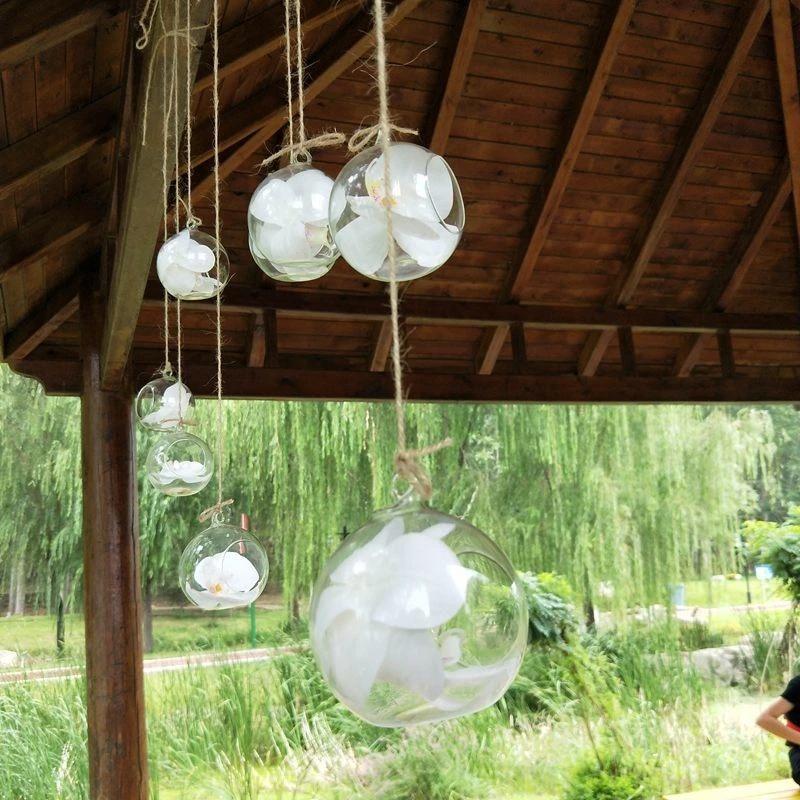Наборы подвесных стеклянных ваз