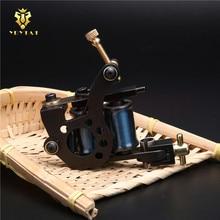 New Original YRYTAT 10 Wrap Coil Liner Shader Tattoo Machine Gun Pro Cast Iron Tattoo Machine Gun Equipment Supply