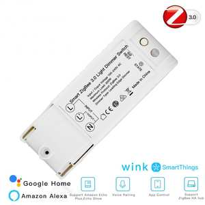 Dimmer Light-Controller Home-Modified-Switch Alexa Echo-Plus Smartthings DIY with Zigbee