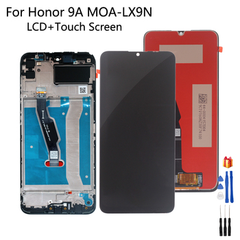 Original For Huawei Honor 9A LCD Display Touch Screen Assembly For Honor 9A MOA-LX9N LCD Enjoy 10E LCD Display With Frame LCD фото