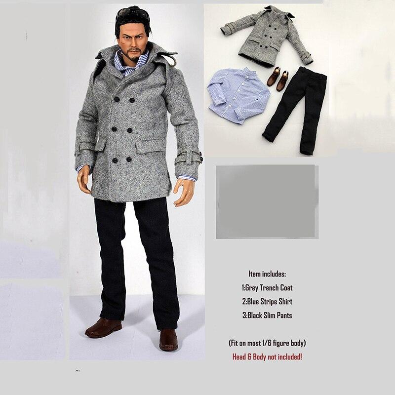 Street Style Hoodie Top /& Jeans Hose für 1//6 Scale 12inch Actionfiguren