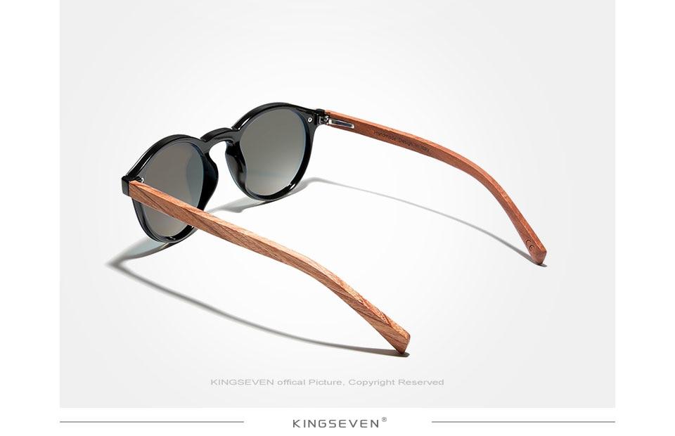 H0e281159fd674122ad12d32cc13969a9M Custom LOGO Natural Wooden Sunglasses GIFTINGER Bubinga Men's Polarized Glasses Wooden Fashion Sun Glasses Original Accessories