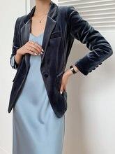 Узкое платье бархатный пиджак женские Пиджаки вельветовый костюм