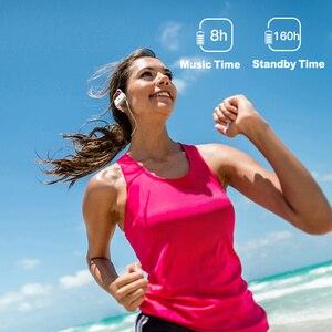 Image 3 - GGMM W600 אלחוטי אוזניות Bluetooth ספורט עמיד למים אוזניות עם מיקרופון רעש מבטל ריצת Sweatproof