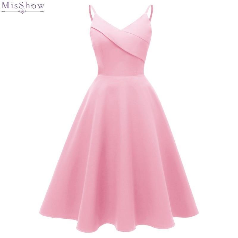 Robe De Cocktail Dresses 2019 Pink Short Formal Dress Party Prom Dresses  Sexy A Line Coctail Dress Coktail Vestidos