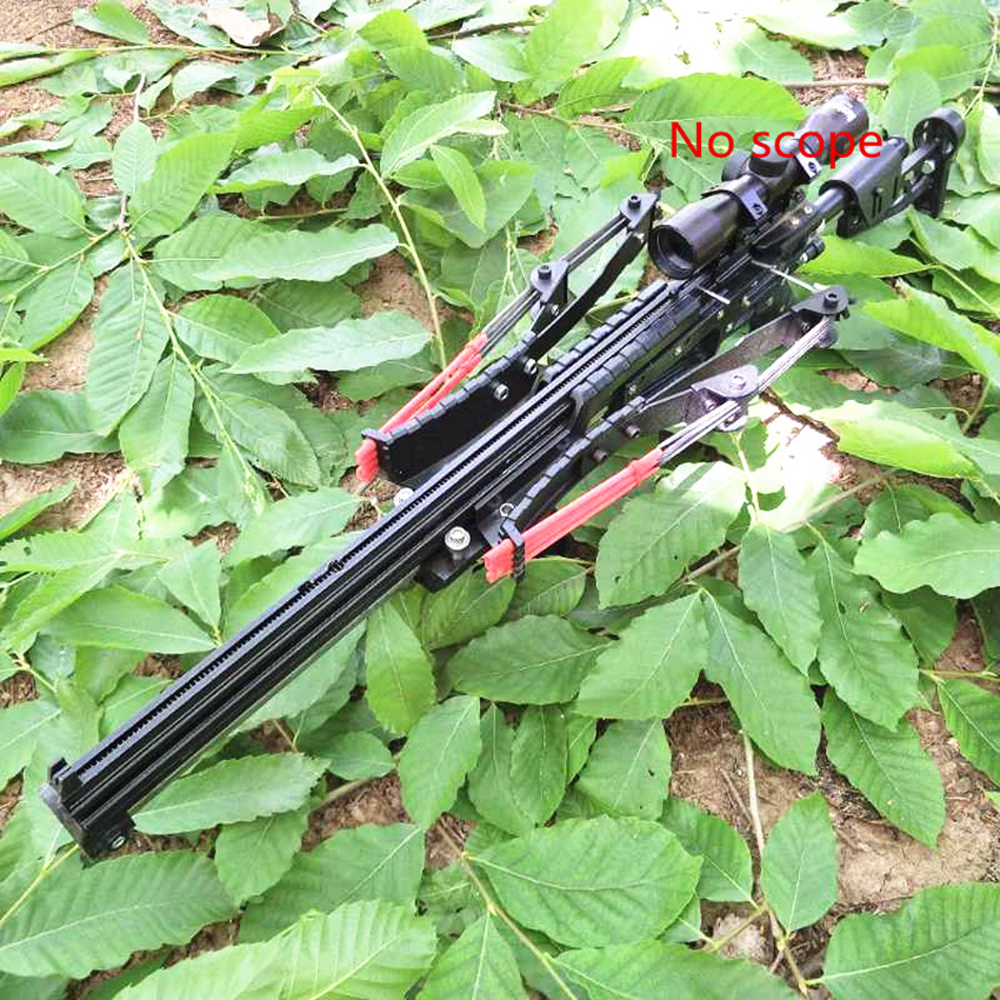 Powerful Neptune 15 Slingshot Rifle Metal Hunting Catapult Continuous Shooting