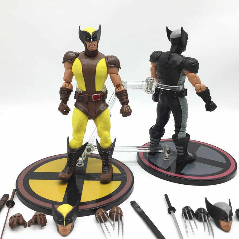 """6/"""" DC Comics X-Men Wolverine One:12 PVC Mezco Doll Action Figure Mode Toy"""