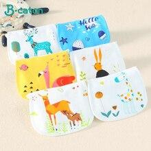 childrens sweat-absorbent towel Baby cotton Kindergarten gauze pad back 6-layer 35x24cm