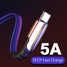 Type C USB Cable 5A Fast Data Sync Charging Cable For Huawei P30 Honor 10 9 Pro For Xiaomi Redmi Note 7 Type C USB Charger Cable type c charger cable typec charging cable data sync for oneplus 3t leeco xiaomi mi5s plus note 2 for huawei mate 9