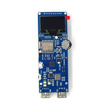 DSTIKE ESP8266 WiFi Deauther Mon ster V4 Development Board Reverse Protection with Antenna and Case 18650 Power Bank 5V 2A(China)