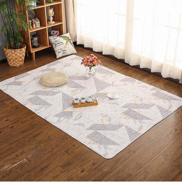 Cotton Carpet For Living Room Kids